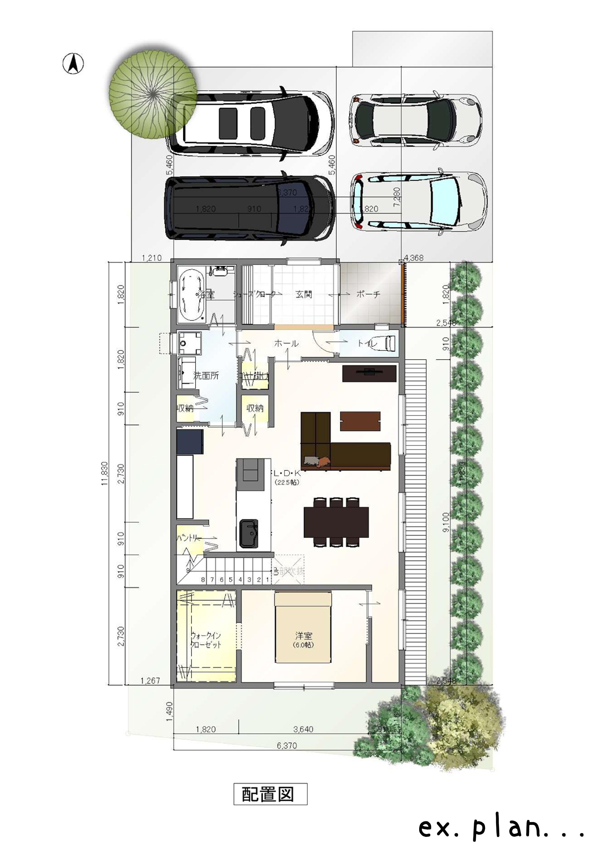 ING-home plan(配置図)(間取)
